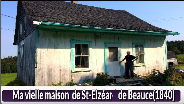 Vieille maison de St-Elzéar - 1840
