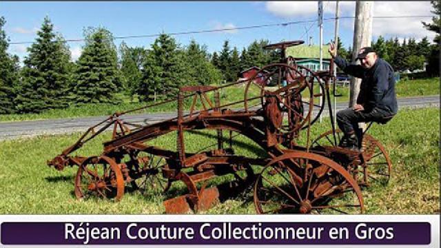 Réjean Couture collectionneur