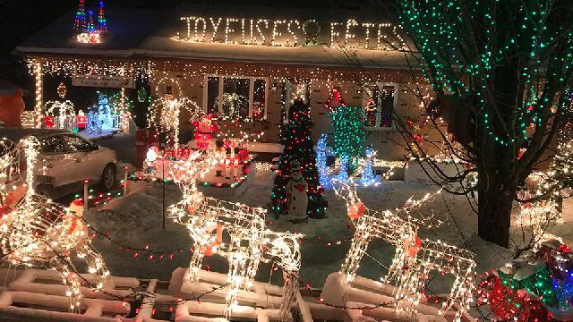Maisons de Noël en Beauce