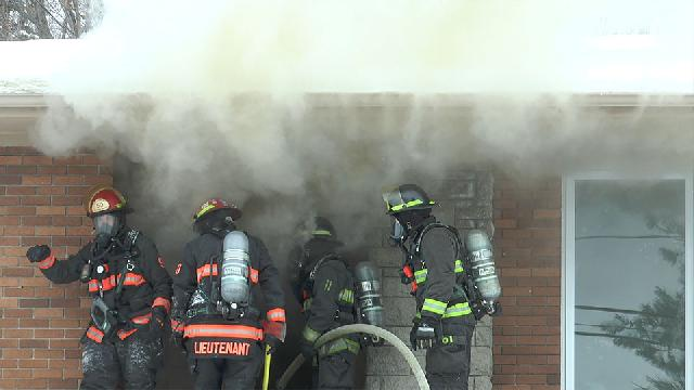 Incendie de résidence à Saint-Georges - 1022 clients privés d'électricité