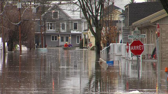 Inondation majeure dans Beauce-Nord - 20 avril 2019