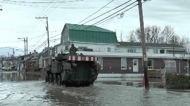 Inondation historique dans Beauce-Nord - Images des dégâts