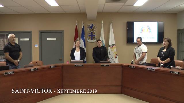 Conseil municipal de Saint-Victor de septembre 2019