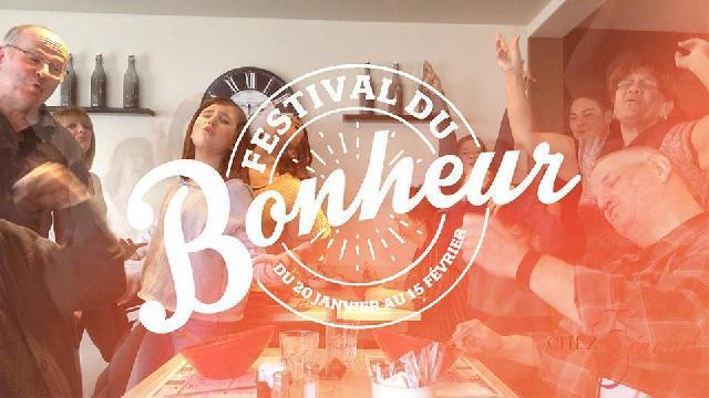 Jusqu'au 15 février, c'est le Festival du Bonheur au Restaurant Chez Gérard!