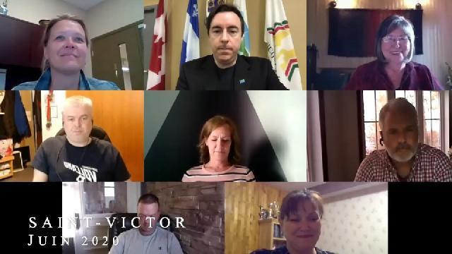 Conseil municipal de Saint-Victor de juin 2020