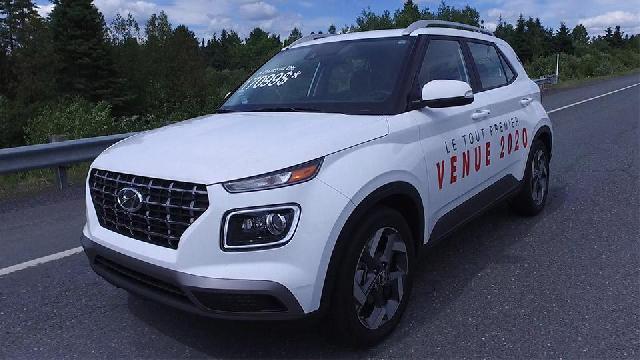 Sur la route - Hyundai Venue 2020