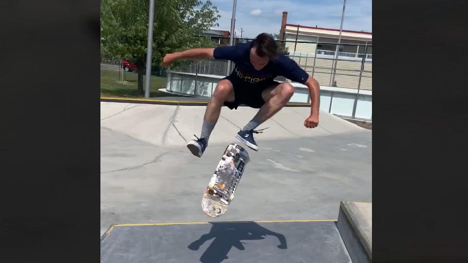 Skate à Drummondville avec Thom, Vinc & Raph du team M2
