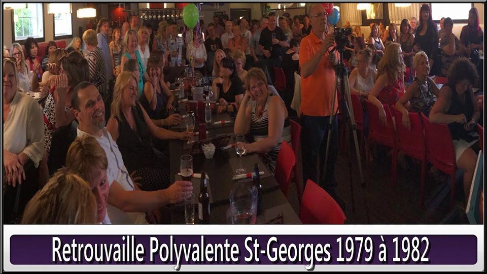 Retrouvaille Polyvalente St-Georges 79 à 82