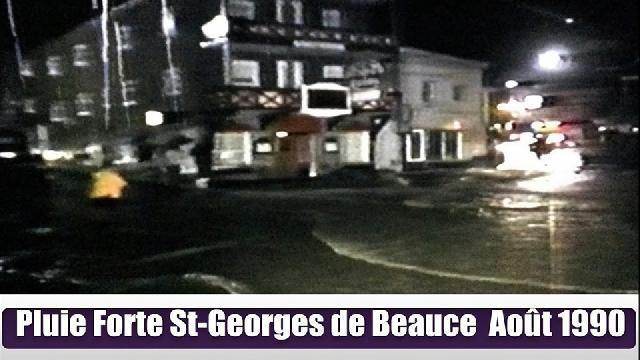 Pluie forte de St Georges 1990