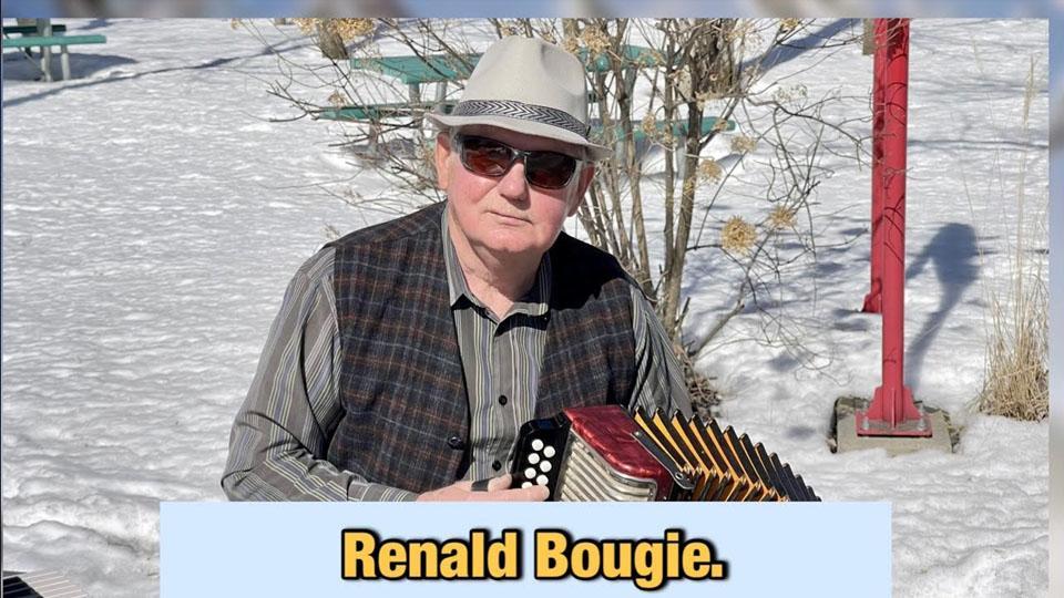 Musiques diverses à l'accordéon avec Renald Bougie