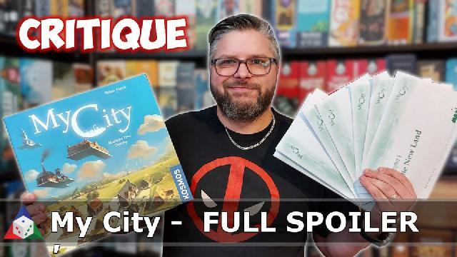 L'École du jeu - My City - Critique