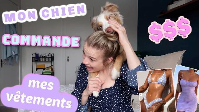 Claudie Mercier - Mon chien choisit les vêtements que je commande