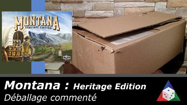 L'école du jeu - Montana: Heritage édition - Déballage commenté