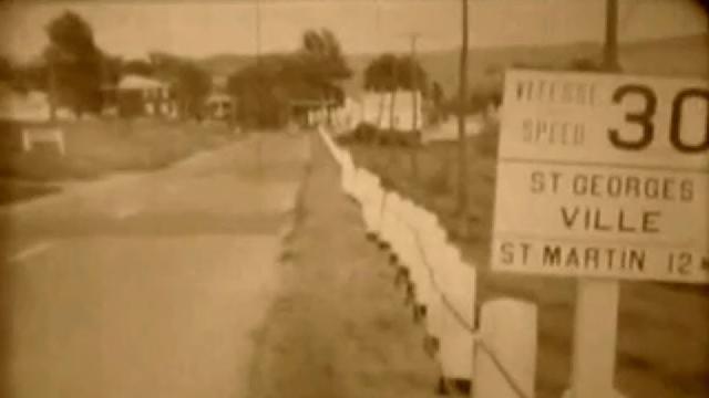 Visites de la Beauce des Berets blanc en 1955