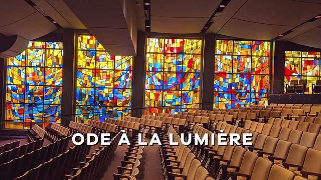 Restauration des vitraux - Salle Alphonse-Desjardins