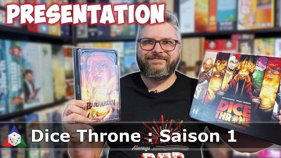 L'École du jeu - Dice Throne : Saison 1 - Présentation du jeu