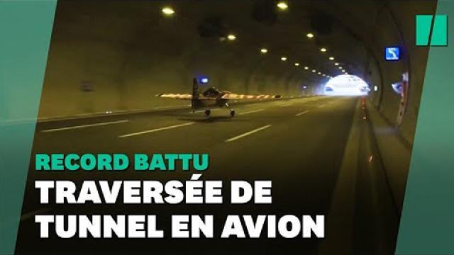 Découverte Beaucetv - Dario Costa fait voler un avion dans un tunnel