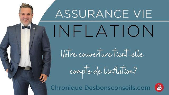 Desbonsconseils.com - Votre couverture tient-elle compte de l'inflation?