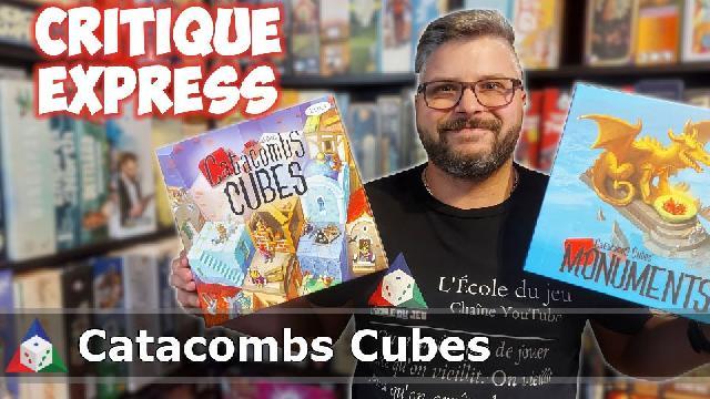 L'École du jeu - Catacomb Cubes + Monuments - Critique Express