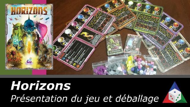 L'École du jeu- Horizon - présentation du jeu et déballage