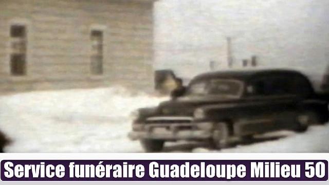 Funérailles à la Guadeloupe au milieu des années 50