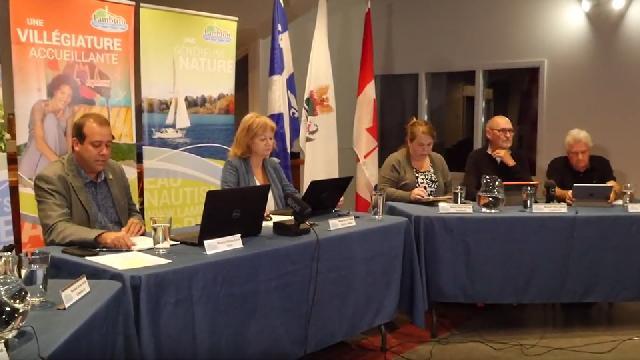 Conseil municipal de Lambton du 10 septembre 2019