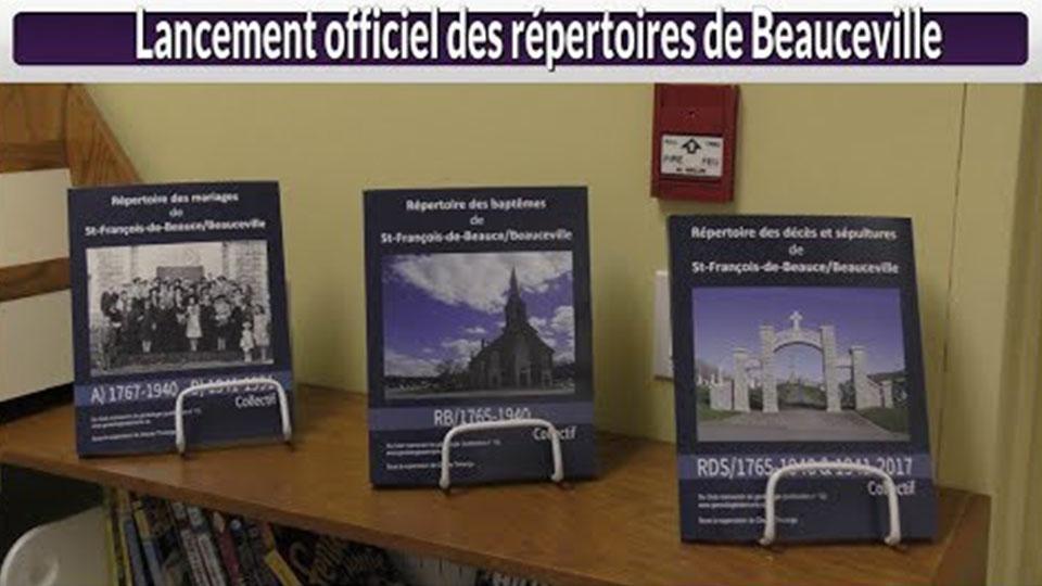Lancement officiel des répertoires de Beauceville