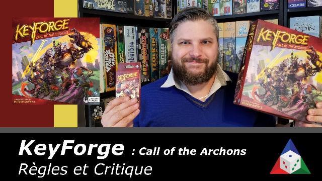 L'École du jeu - KeyForge: Call of the Archons - Règles et critique