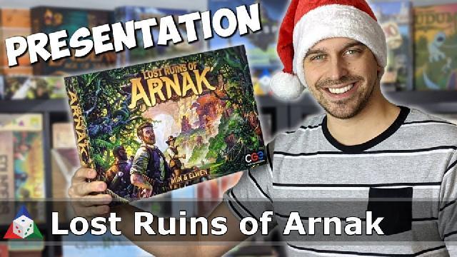 L'École du jeu - Lost Ruins of Arnak - Présentation du jeu