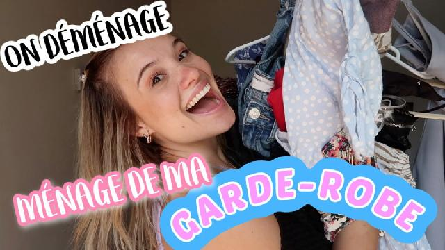 Claudie Mercier - ON DÉMÉNAGE : Ménage de ma garde-robe!!