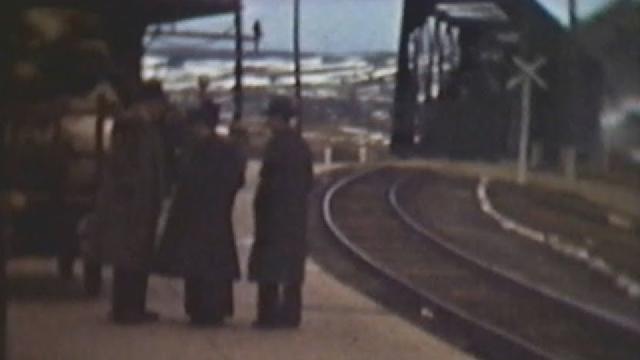 Souvenirs de la Gare de Vallée Jonction en 1949