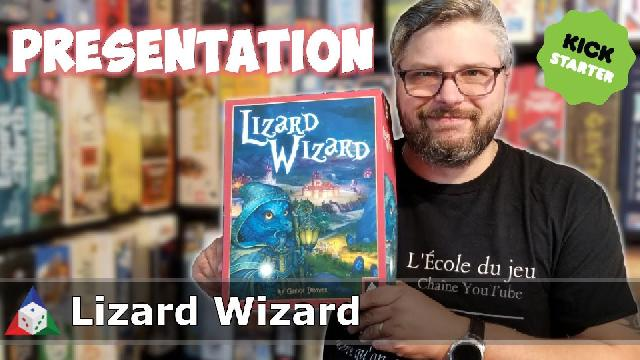 L'École du jeu - Lizard Wizard - Présentation du jeu