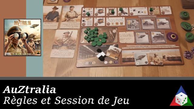 AuZtralia - Règles et session de jeu