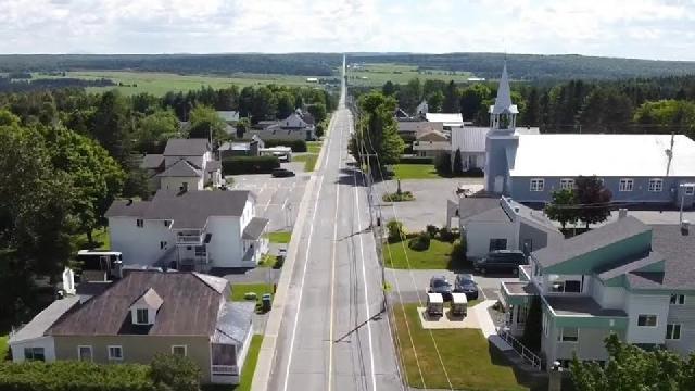 Saint-Jean-de-la-Lande vue des airs